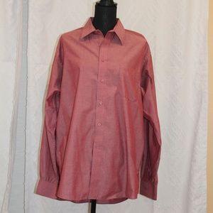 pierre cardin long sleeve button down dress shirt